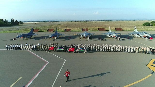 Turkish F-16s arrive in Azerbaijan for joint drill