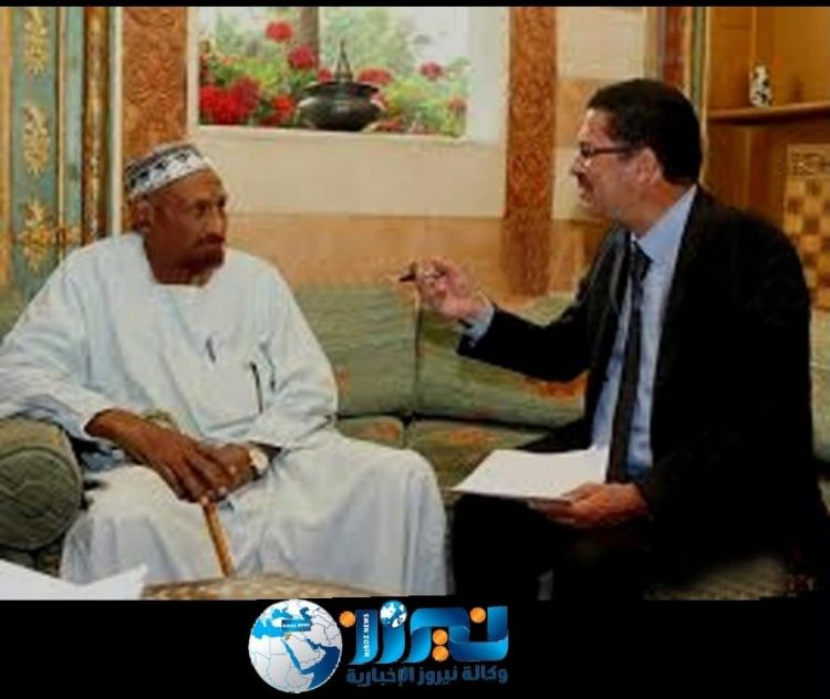 المؤرخ العرموطي في مقابلة مع الإمام الصادق المهدي رئيس وزراء السودان الاسبق٠٠٠قبل 4 سنوات٠٠٠تحدث فيها عن سد النهضة