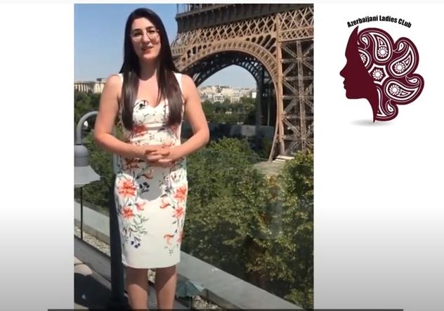 """""""Azerbaijani Ladies Club"""" üzvləri adından Azərbaycan həkimlərinə dəstək mesajı - VİDEO"""
