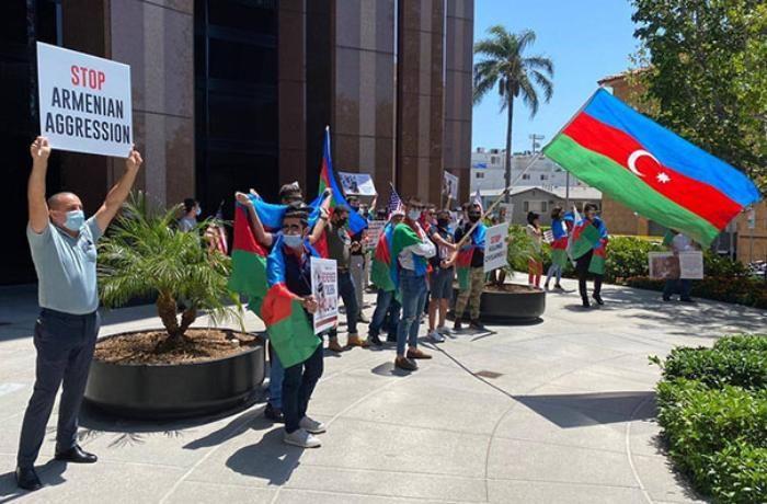 Armenia takes aggression toward Azerbaijan to Los Angeles streets