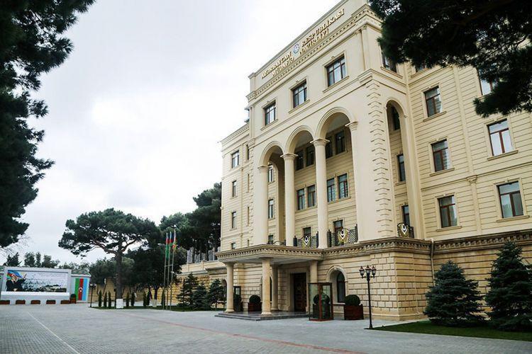 Azerbaijani MoD - Armenians created a fake Twitter account using the name of the Ministry of Defense of Azerbaijan