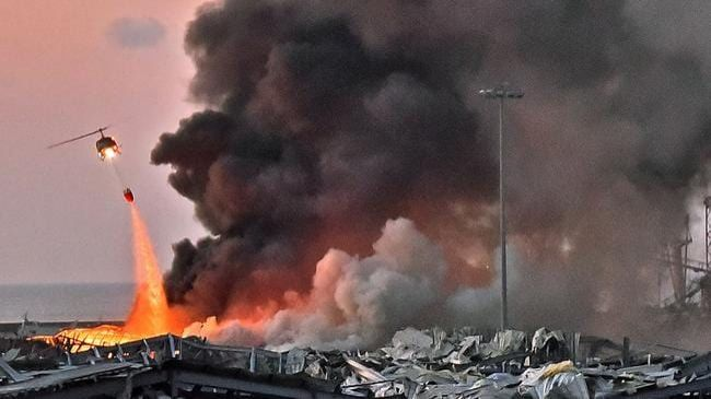 2750 tonnes of ammonium nitrate stored at Beirut warehouse at centre of explosion