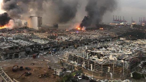 Beyrutda baş vermiş partlayışda ölənlərin sayı 135-ə çatıb - YENİLƏNİB - VİDEO