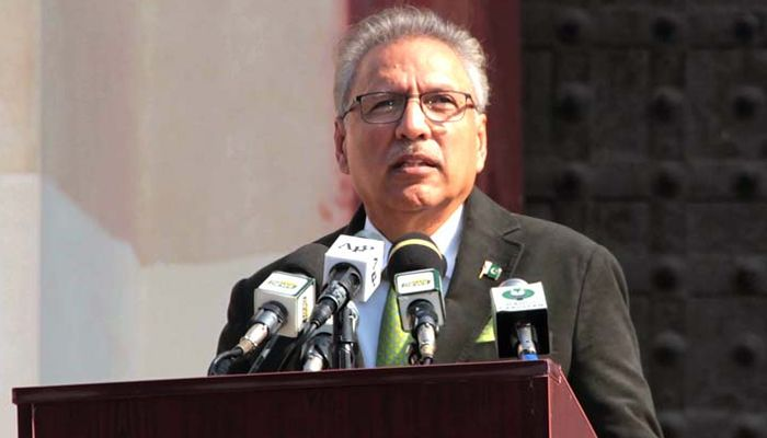 President of Pakistan Arif Alvi expressed gratitude to Azerbaijan, China and Turkey to stand with Pakistan over Kashmir issue