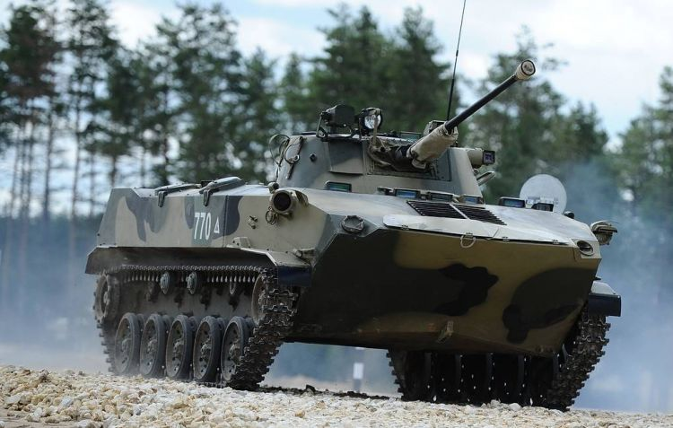 Over 160 tanks and armored vehicles arrive for Russian Army and Airborne Force
