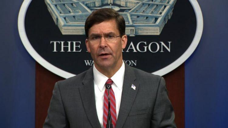 Esper says US troop levels in Afghanistan to go below 5,000 by end of November