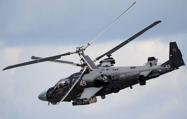 Russia's upgraded Ka-52M combat helicopter makes debut flight