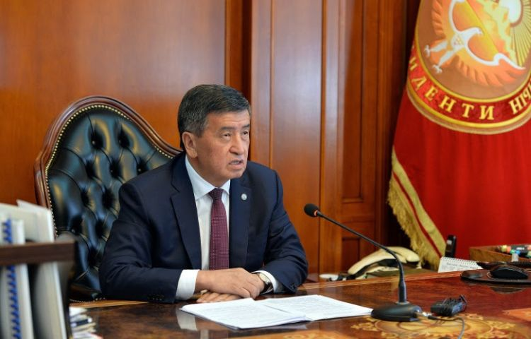 President Jeenbekov demands from government to control food prices