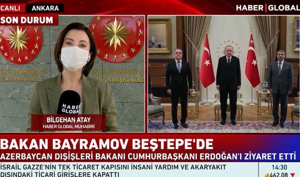 Türkiyə Prezidenti Ceyhun Bayramovu və Zakir Həsənovu qəbul etdi - VİDEO