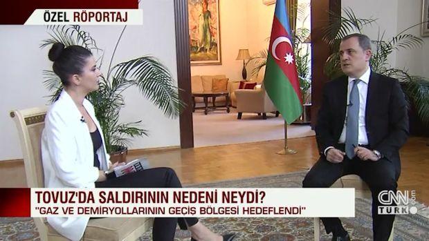 """Ceyhun Bayramov """"CNNTürk""""ə müsahibə verdi - VİDEO"""