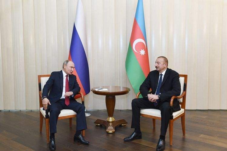 Azerbaijani President discussed with Russian counterpart about transportation of military cargoes to Armenia