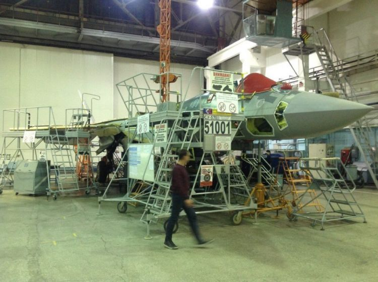 Russia releases images of second series-production Su-57 stealth fighter