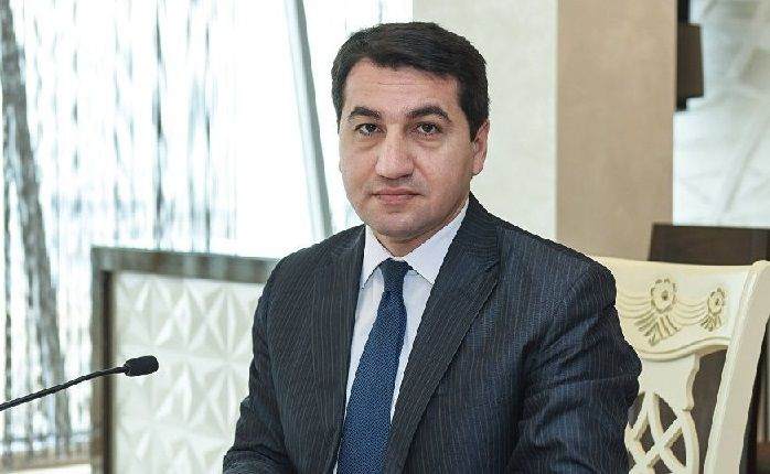 """""""Armenia is using the people from Lebanon and Syria resettled in the occupied territories as mercenaries"""" - Hikmat Hajiyev"""