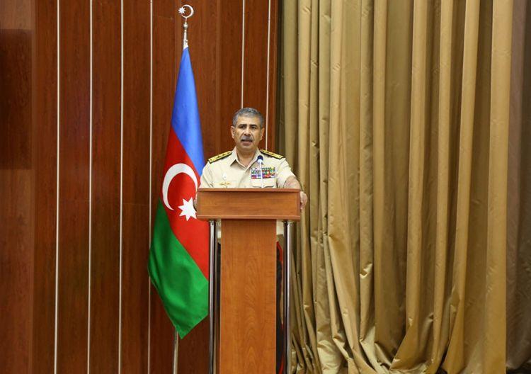 «Азербайджанская Армия готова выполнить свой священный долг по освобождению своих земель» - Министр обороны Азербайджана - ФОТО