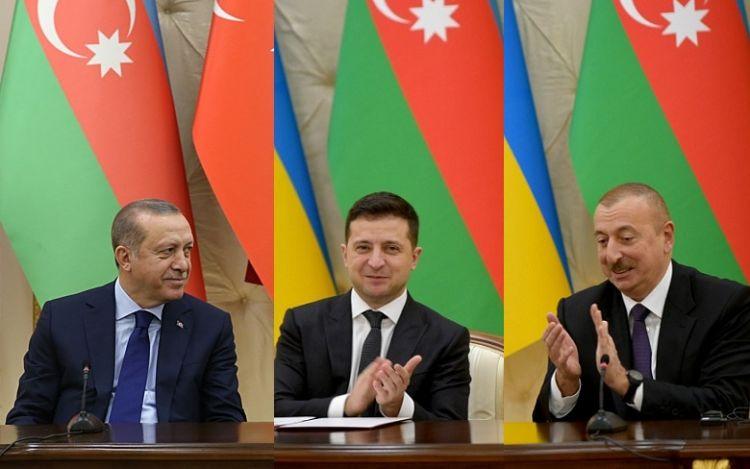 Ukrayna-Azərbaycan-Türkiyə əlaqələri Rusiya milli təhlükəszilik sisteminə yeni çağırışdır - Politoloq