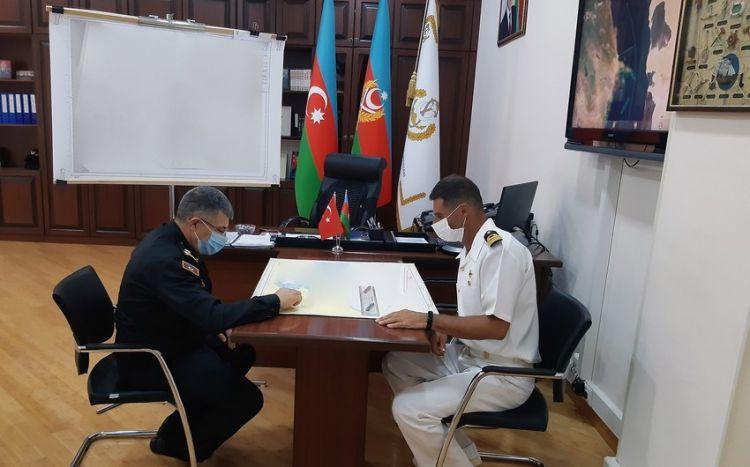 Контр-адмирал Азербайджана по поводу информации в соцсетях о турецком офицере-координаторе