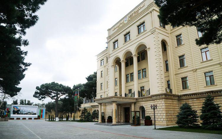 Минобороны Азербайджана: погиб военнослужащий сверхсрочной службы азербайджанской армии