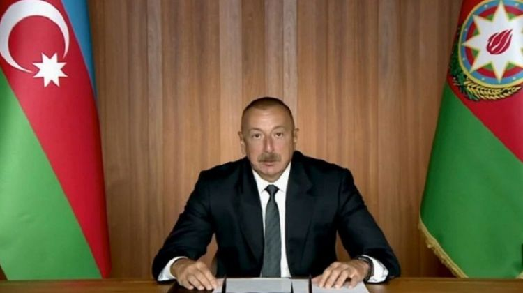 We call on the UN and international community to urge Armenia to refrain from another military aggression - Azerbaijan President