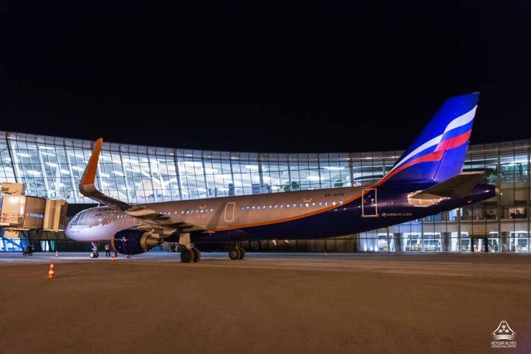"""""""Аэрофлот"""" возобновил полеты в Баку"""