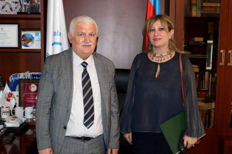 Посол Алжира в Азербайджане встретилась с Умудом Мирзаевым - ФОТОg