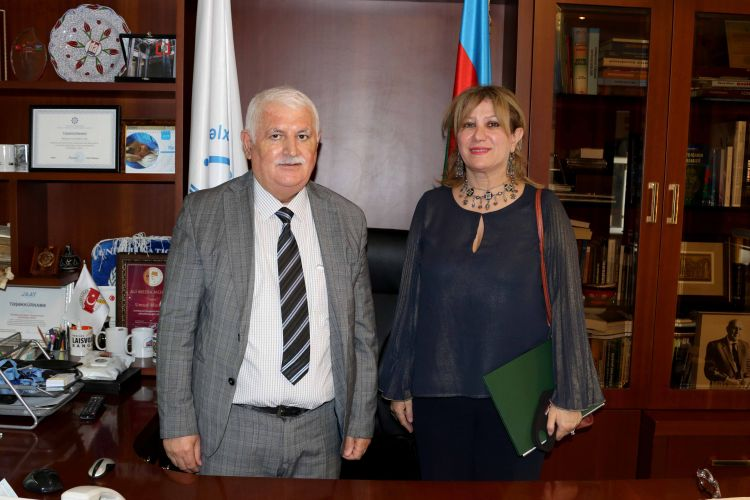 Algerian Ambassador to Azerbaijan met with Umud Mirzayev - PHOTOS