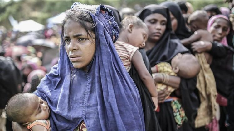 Under what conditions will Rohingya people gain back their freedom?