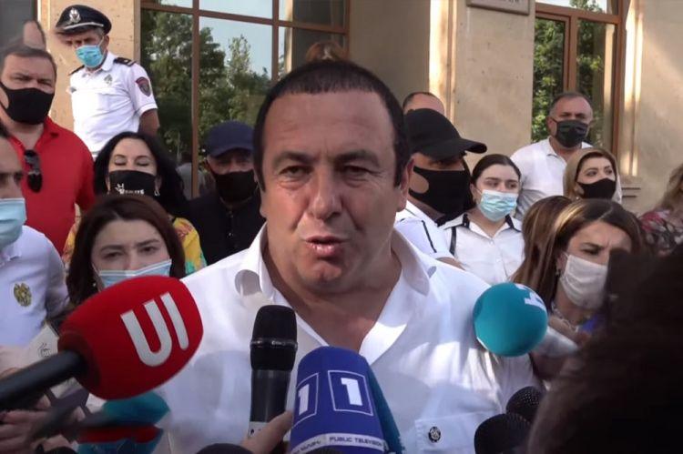 """Ermənistan müxalifət lideri həbs edildi - """"Bu siyasi sifarişdir"""""""