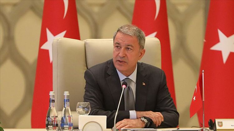 The biggest obstacle to peace and stability in the Caucasus is the aggressive attitude of Armenia - Turkish Defense Minister