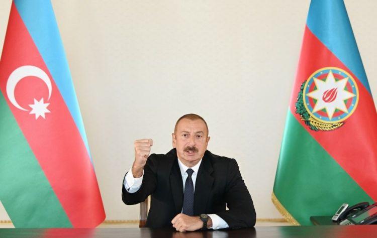 Ильхам Алиев о продвижении азербайджанских войск в Карабахе