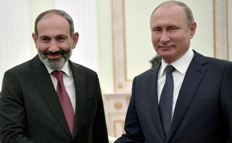 Putin ilə Paşinyan arasında telefon danışığı olub