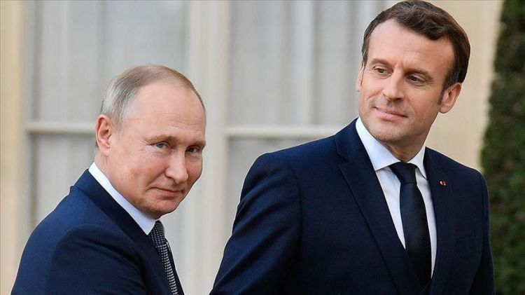 Putin, Macron discuss Upper Karabakh conflict by phone