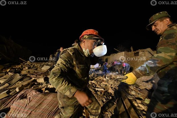 Armenian armed forces again struck the city of Ganja at night - PHOTOS