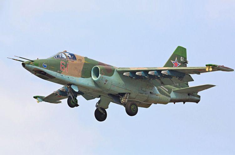 Düşmənə məxsus Su-25 təyyarəsi məhv edilib