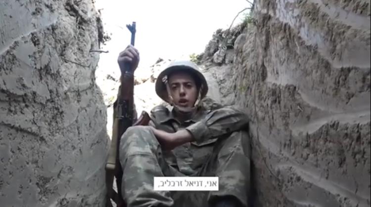 Азербайджанский еврей - сегодня я служу на передовых линиях на фронте и горжусь собой! - ВИДЕО