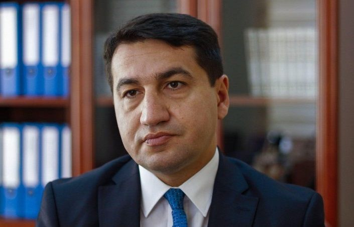 """The Azerbaijani community of Nagorno-Karabakh is ready to live with the Armenian population"" - Hikmet Hajiyev"