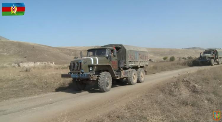 Азербайджанская Армия захватила новые трофеи - ВИДЕО