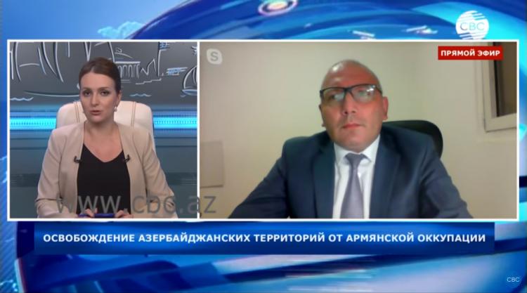 Президент Азербайджана показывает настоящий урок военно-политическому руководству Армении - Арье Гут - ВИДЕО