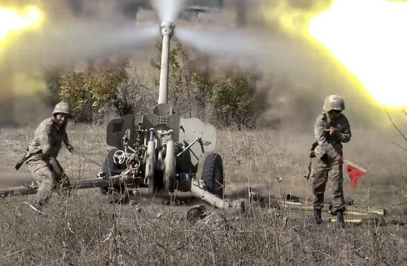 During the night, the Azerbaijani Army destroyed Armenian army's positions and liberated important points