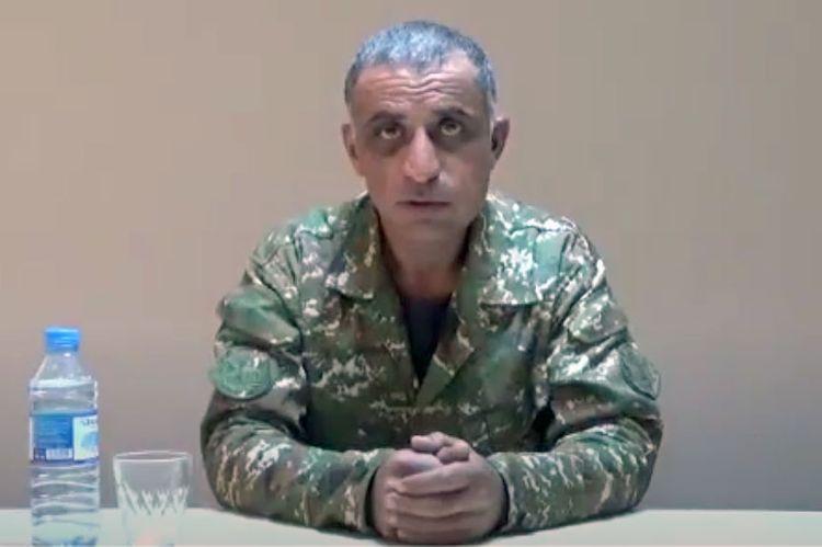 """Əsir erməni mayor: - """"Qarabağa getmək istəmirdim, çünki bura bizim torpağımız deyil"""" - VİDEO"""