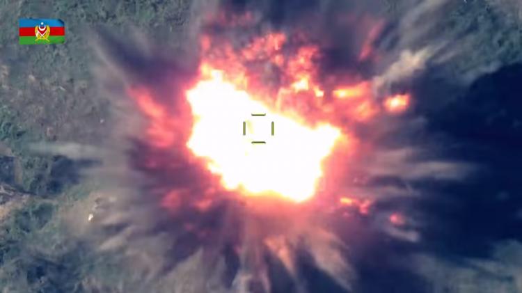 Уничтожены артиллерийские подразделения и командный пункт противника - ВИДЕО