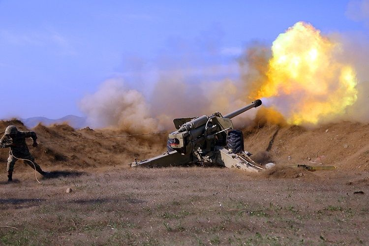 Frontline operations continued in Agdara, Khojavend, Fizuli, Hadrut and Gubadli with intensity