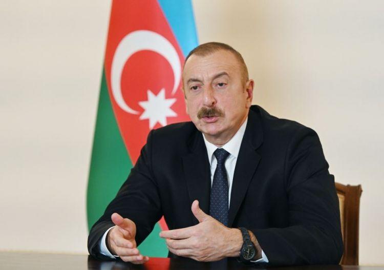 """""""Mən əminəm ki, iki millət, iki xalq barışacaq"""" - Prezident İlham Əliyev"""