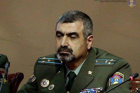 Ermənistanın sərhəd qoşunları komandanı vəzifəsindən azad edildi