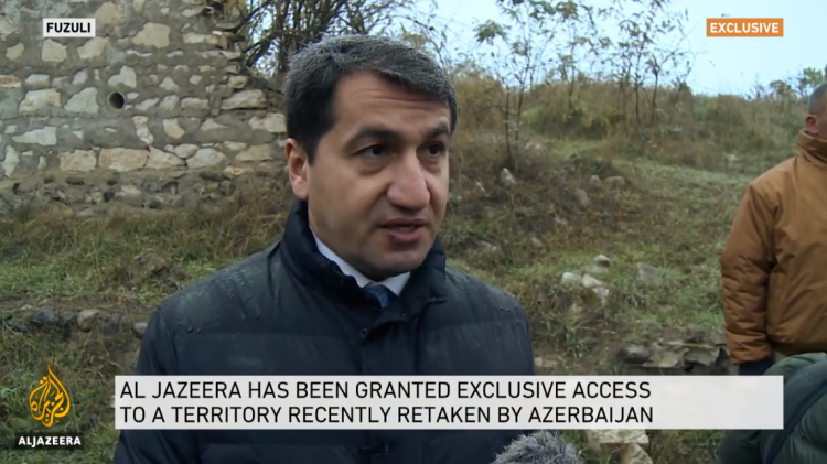 Presidential aide gave an exclusive interview to Al-Jazeera - VIDEO