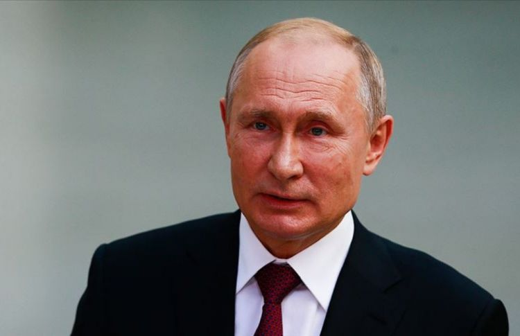 """""""According to international law, Nagorno-Karabakh and its territory have been and still are a part of the Republic of Azerbaijan"""" - Putin"""