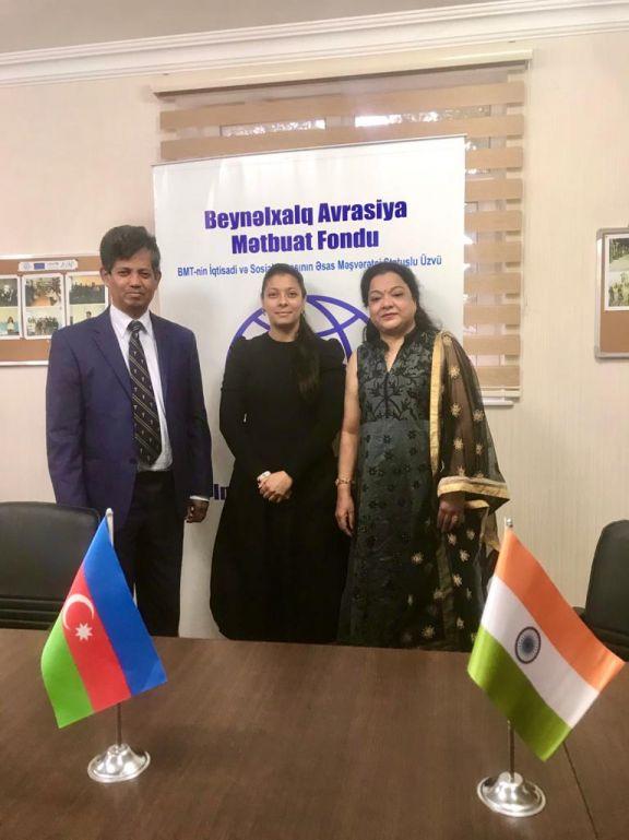 Мир должен знать о криминальных деяниях армян против азербайджанского народа - Раджани Чандра-Д'Мелло - ВИДЕО - ФОТО