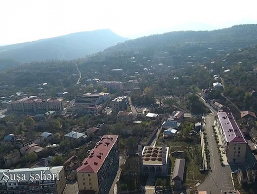 Минобороны Азербайджана показало Шушу - ВИДЕО