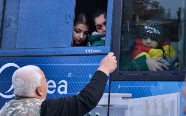 Rus sülhməramlıları 11 mindən çox erməni əhalisinin Dağlıq Qarabağa geri qayıtmasını təmin ediblər
