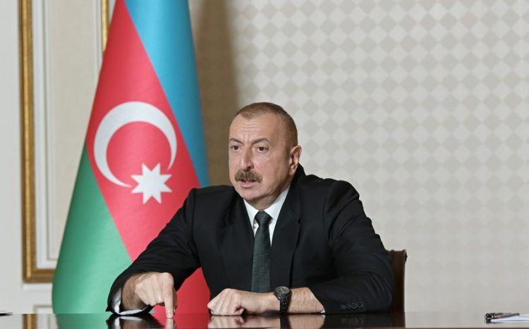 """""""O xəritələr, sadəcə olaraq, kağız parçasıdır"""" - Azərbaycan Prezidenti"""