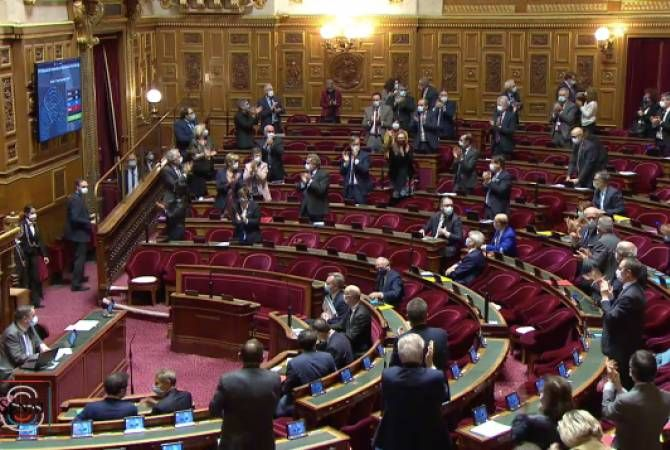 French Senate adopted  resolution on necessity to recognize independence of Nagorno-Karabakh